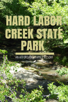 Hard Labor Creek State Park is like an affordable family resort.