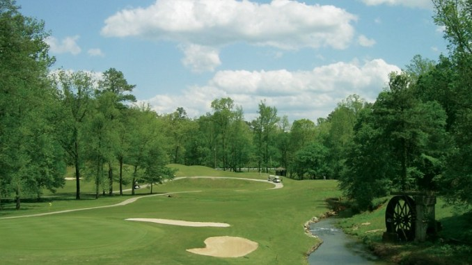 Hard Labor Creek State Park Golf Course has one of the hardest tee shots in Georgia