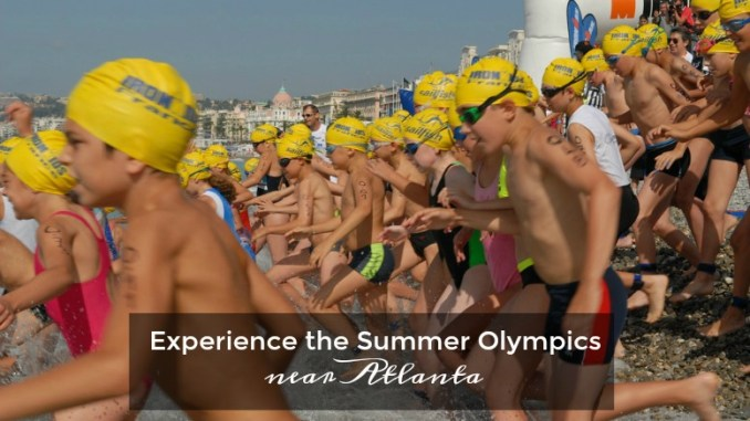 Find places to experience the summer Olympics near Atlanta