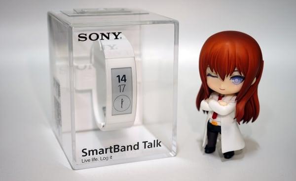 開箱|SONY Smartband Talk SWR30 白色款 通話智慧手環 + 滿週使用心得