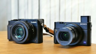 【4K】搭載 高級コンデジ「RX100m4」と「LX100」を比較