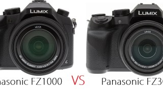 パナソニック「LUMIX FZ300」の発表で「FZ1000」と気になったので比較してみた。
