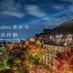 【京都の紅葉】 清水寺の夜の特別拝観 ライトアップ