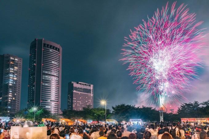 天神祭奉納花火を見てきた。2018年の天神祭のために記録しておく
