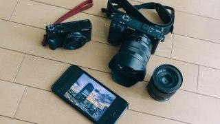 3枚の写真からiPhoneと高級コンデジ、ミラーレス一眼の使い分けを紹介