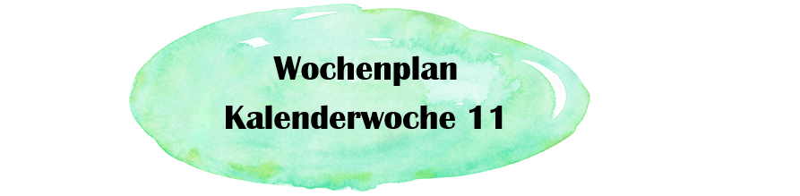 Essensplan – KW 11 – 2019