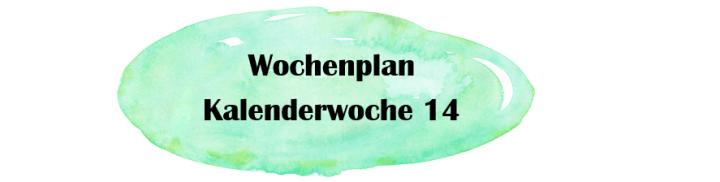 Essensplan – KW 14