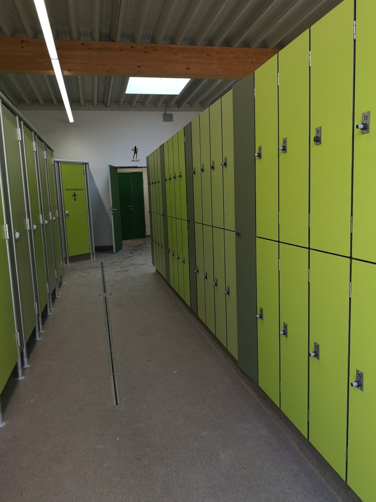 Umkleiden, Toiletten und Spinte - Copyright: fuchsliebende