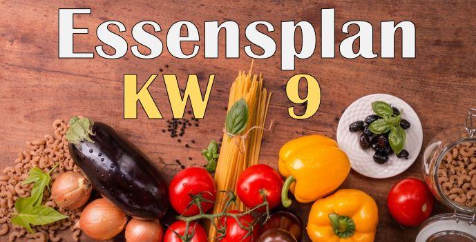 Essensplan – KW 9 – 2020