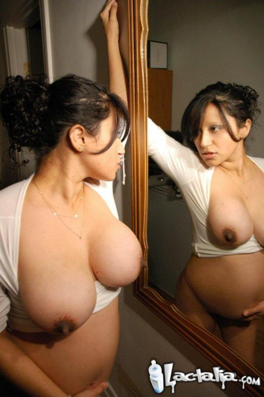 Posing in the Mirror