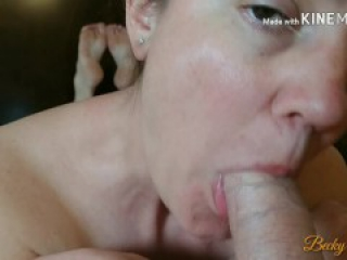 Sexy MILF rides and milks Tinder boy toy's cock - Part 2