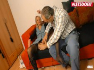LETSDOEIT - Sexy Gilf Drilled By Her Mature Lover