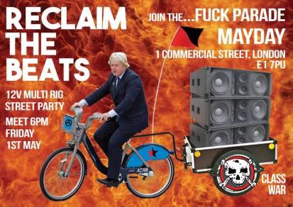 Fuck Parade 1, 1st May 2015