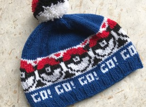 Fair Isle Pokemon Hat