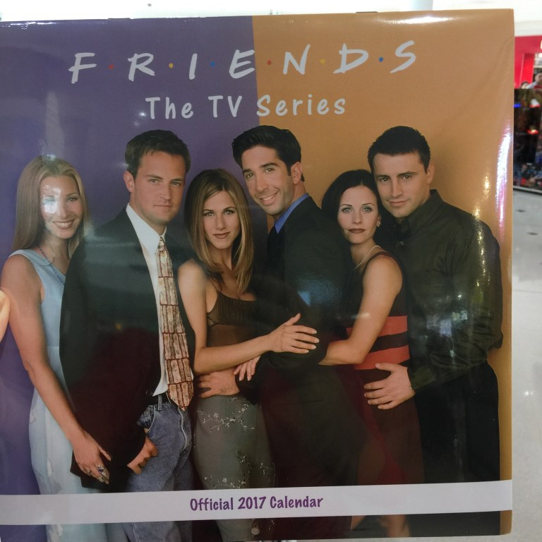 I'll be there for youuuuu. Whatever.