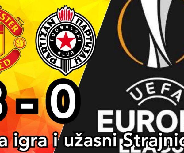 Partizan – Manchester United 0-1 ☆ Odlični Partizan ostao bez bodova ☆ Liga Evrope