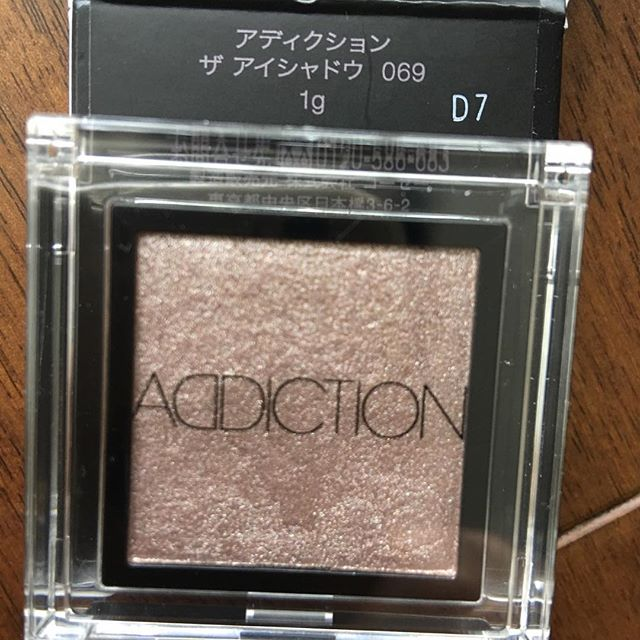 #addiction eyeshadow 69@2376 yen