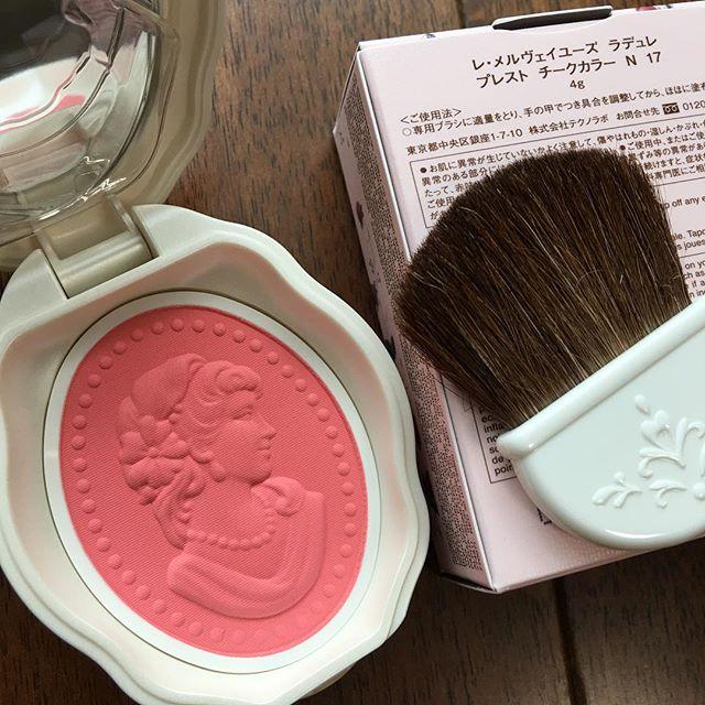 #laduree pressed cheek 17(6296 yen )