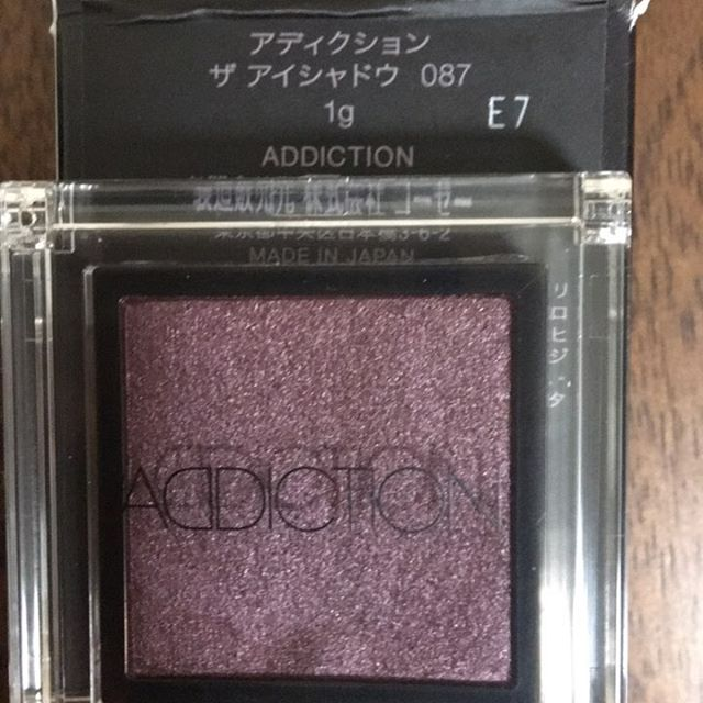#addiction eyeshadow 87