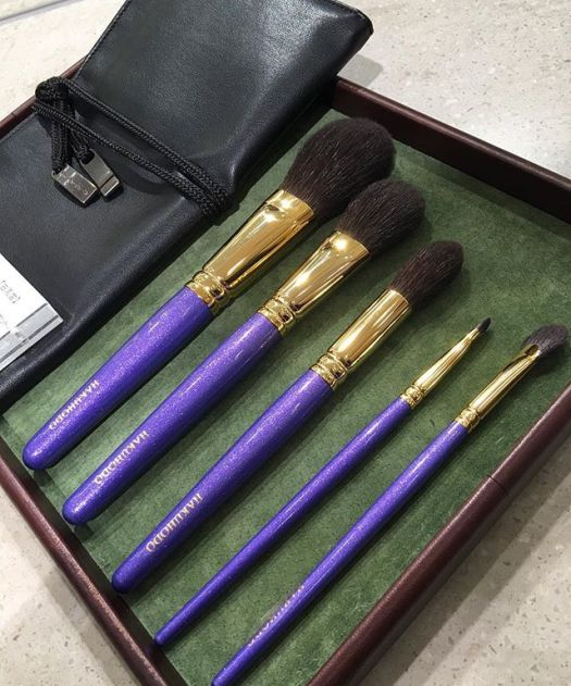 #hakuhodo Mitsukoshi purple set 28631 Yen B002S111G5521BF8431B144