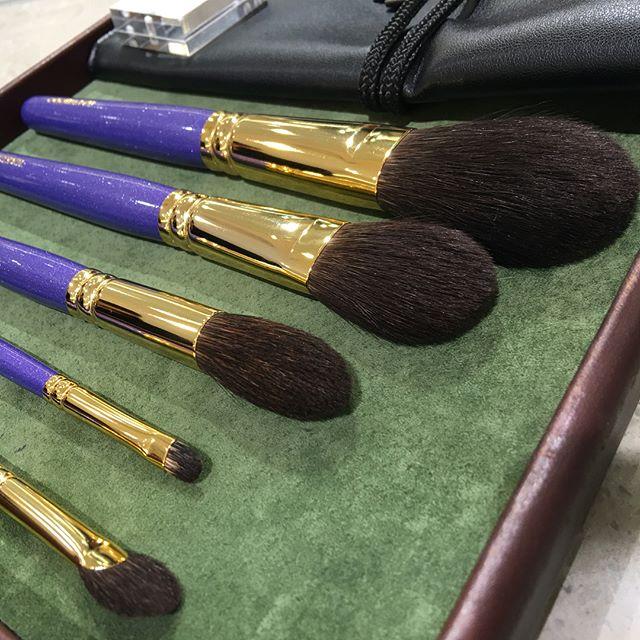 #hakuhodo Mitsukoshi purple set 28631 Yen Grey squirrel basis B002S111G5521BF8431B144