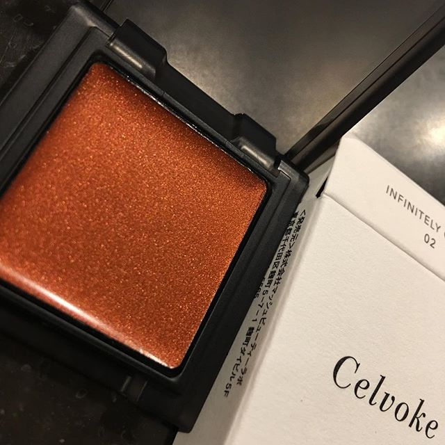 #celvoke infinity color 02 for face eye blush and lip