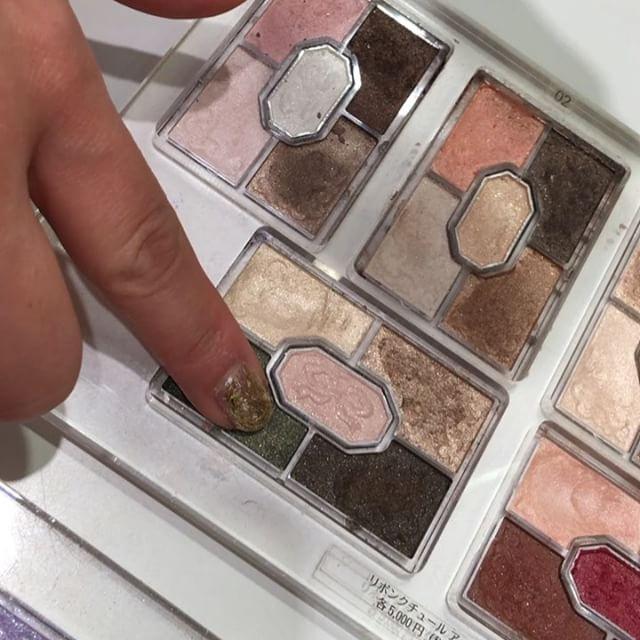 #jillstuartbeauty eyeshadow palette (green )
