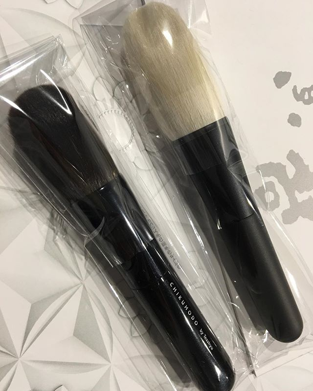 #chikuhodo T1 saikoho Powder 12000 Yen Z1 grey Squirrel Powder 16000 Yen