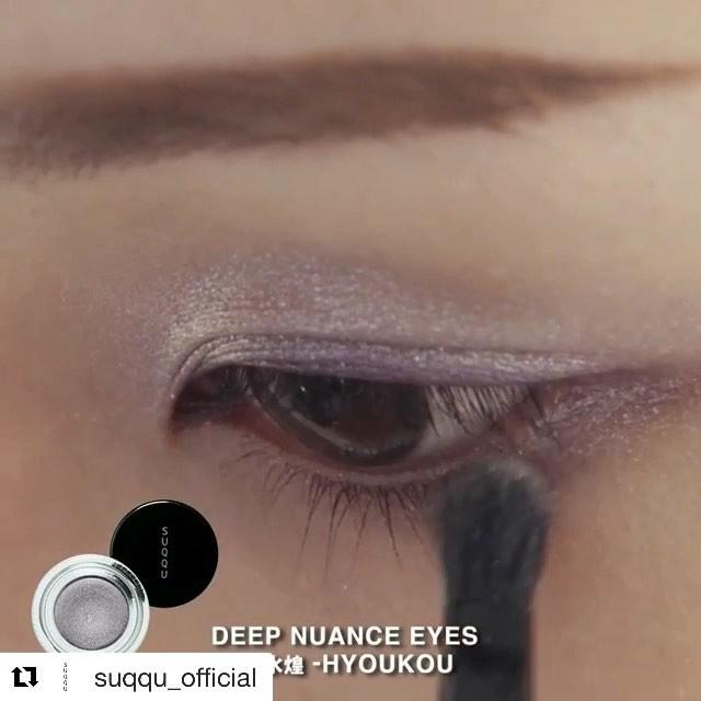 ( loud sound )suqqu 2018 January by a SUQQU MUA #Repost @suqqu_official with @get_repost・・・SUQQUアーティスト花田佳衣子が、2018 春 カラーコレクション「SUKASHIAOI LOOK」HOWTOを伝授。 #suqqu #スック #2018spring #cosmetics