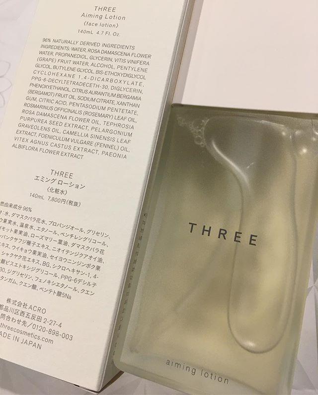 #Three aiming face lotion 9266 Yen