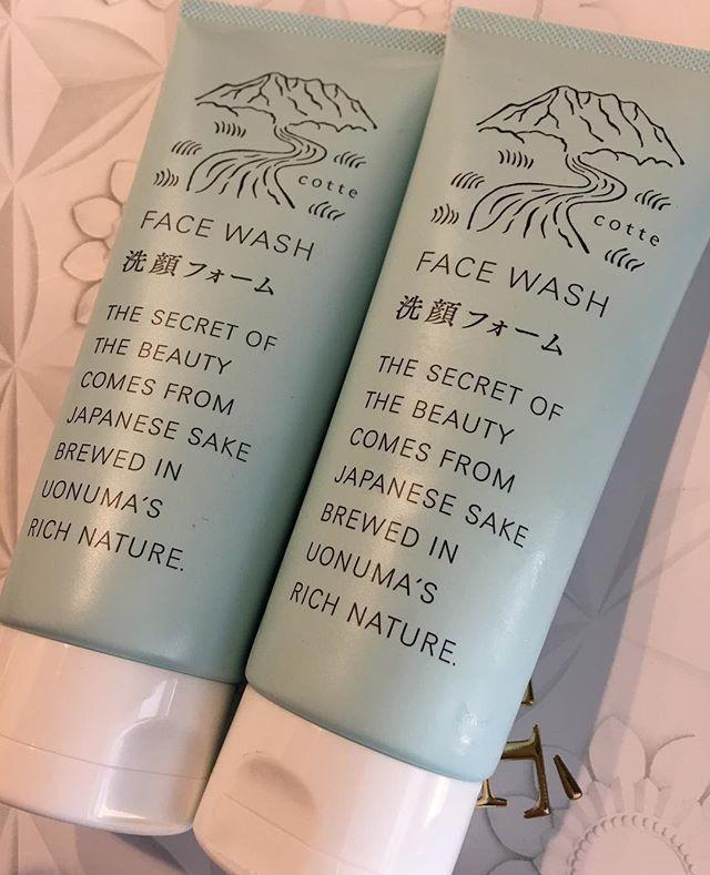 Sake face wash