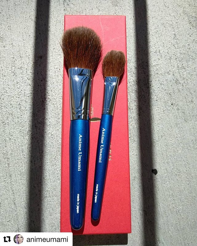 #Repost @animeumami with @get_repost・・・@fudejapan I couldn't be happier with my new Tanseido brushes. Thank you so much Toshiya, I will treasure these forever!