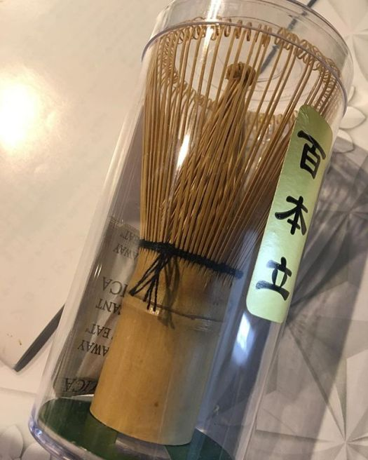 Tea whisk to make Japanese tea  1677 yen