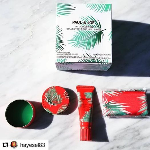 #Repost @hayesel83 with @get_repost・・・Let's keep going with the palm leaf theme  I received this lovely @paulandjoe_beaute lip set from @fudejapan. It's a lip balm, a tinted lip gloss, and I think that's a pouch or cloth or something. Such cute packaging! Thank you toshiya!  #paulandjoe #lipstickjunkie #palmleaves #palmtrees #lipbalm #lipgloss #saturdaynight #weekendvibes #limitededition #newmakeup #japan #makeupaddict #beautyaddict #beautylover #slave2makeup #vegas_nay #slave2beauty #makeupjunkie #prettypackaging #igbeauty #beautycommunity
