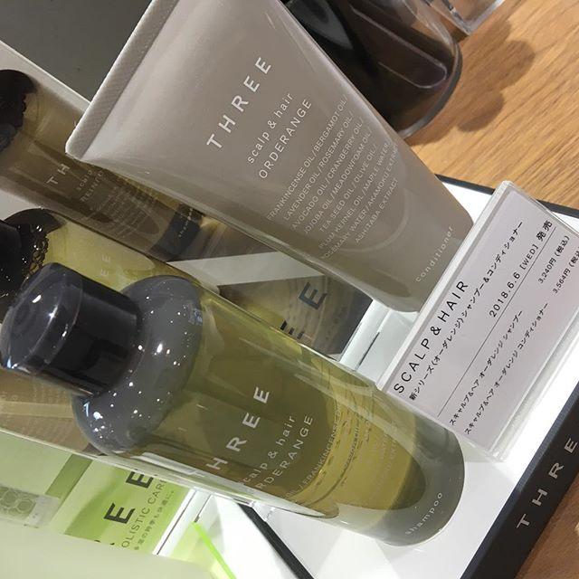 #THREE #orderange shampoo and conditioner