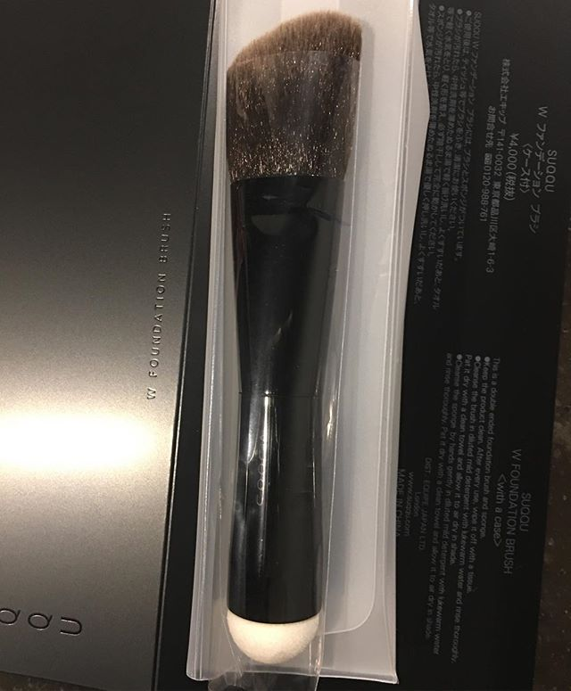 #suqqu W foundation brush 4800 Yen