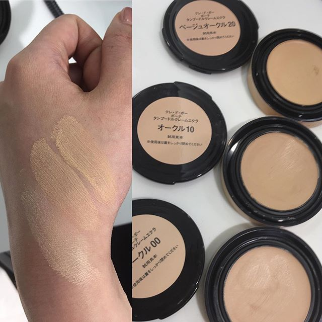 #cledepeaubeaute new foundation I10, O10, and BF20