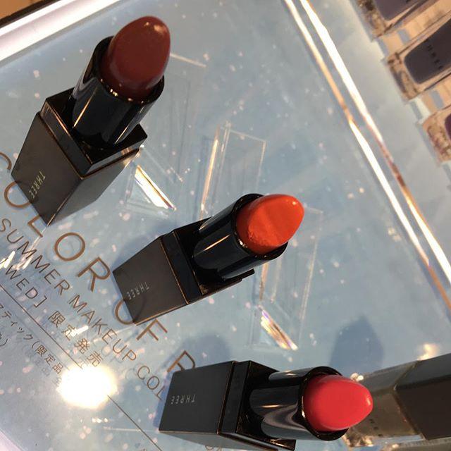 #THREE lipstick May