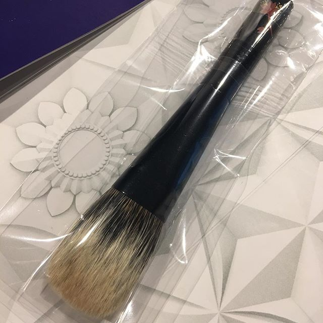 #kihitsu White Canadian Squirrel Black flat Makie handle 21000 yen Engraving free
