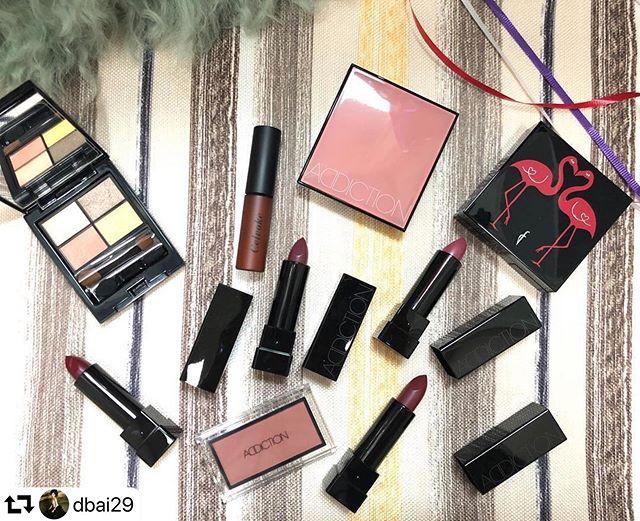 #repost @dbai29・・・Imagine what my makeup drawers look like  all thanks to @fudejapan !!!!!!! #addictionmakeup #addictioncarmenrose #etvos #astalift