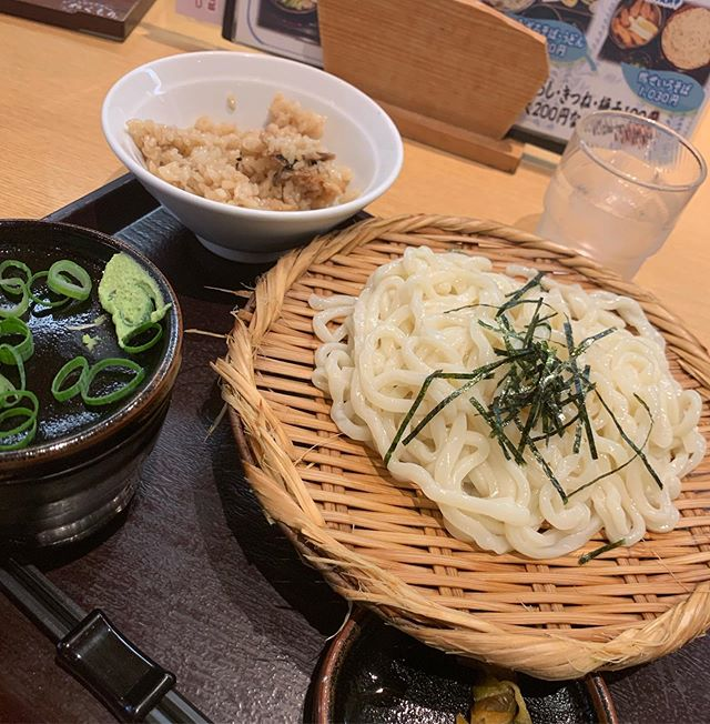 Udon lunch today Not bad for 570 yen