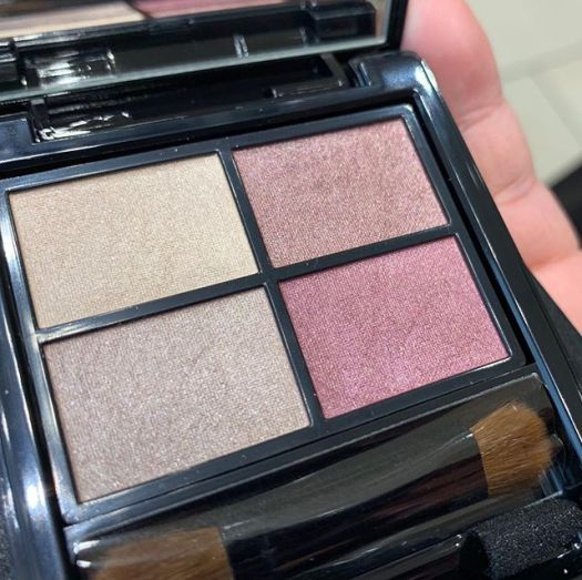 #Etvos eyeshadow palette Mauve brown 4800 yen