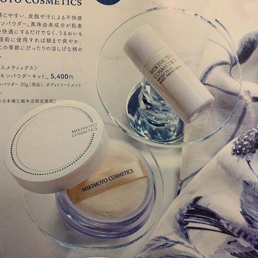 #Mikimoto powder set 6000 yen