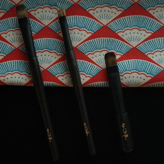 #yojiya mini brushes