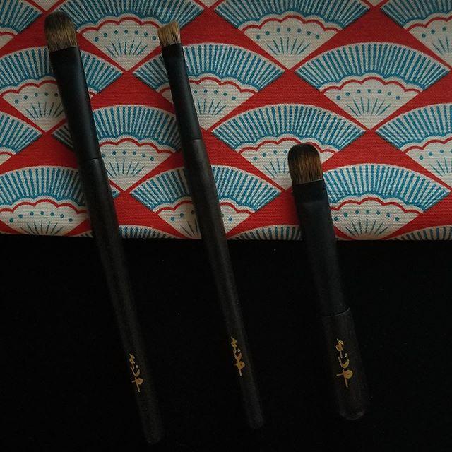 #yojiya mini brushes
