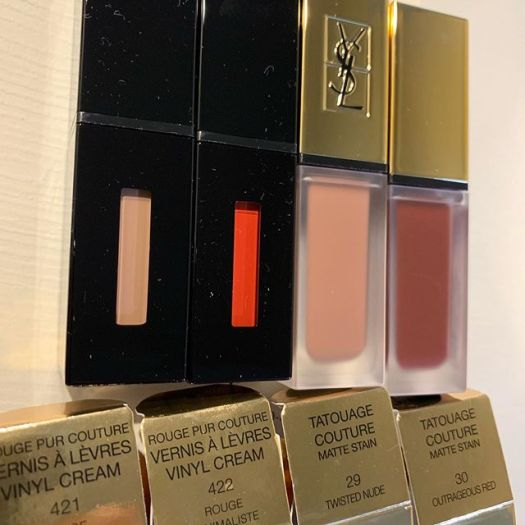 #ysl lipstick