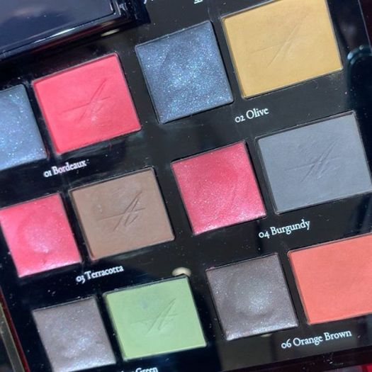 #amplitude eyeshadow swatch