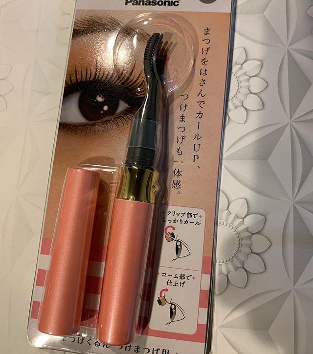 #Panasonic eyelash curler