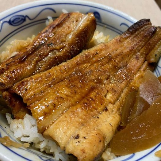 Maybe once a month I really feel like eating #unagi (eel ). Maybe you feel the same for steak ? For me it is Unagi. Sometimes #KaraageBought this #unagi at a small restaurant nearby