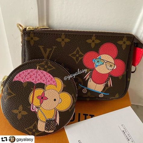 #repost @gayalasy・・・Can't stop admiring these little beauties ️️ And those ombré sunnies 😎Stunning details as always 🥳 Thanks again Toshiya️ @fudejapan #fudejapan #obsessed #louisvuitton #lvchristmasanimation #lvvivienne #lvrcp #lvminipochette #unboxing #lvanimation2019 #lvjapanexclusive #vivienne  #lvunboxing #louisvuittonunboxing #louisvuittonlvoe #louisvuitton #louisvuittonparis #louisvuittonlover #louisvuittonaddict #lvoe #paris #parisienne #parisjetaime #france